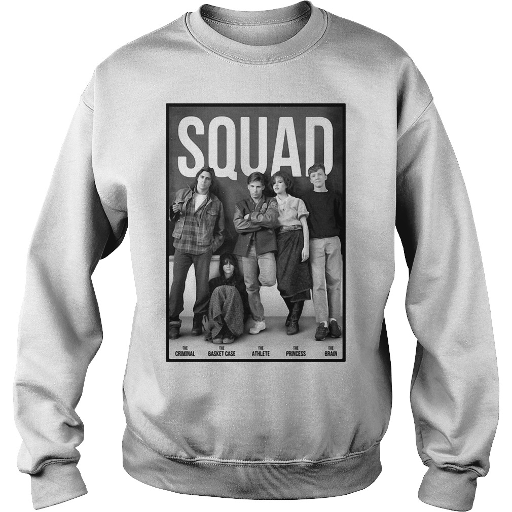 Squad Criminal Basket Athlete Case Princess and Brain Sweater
