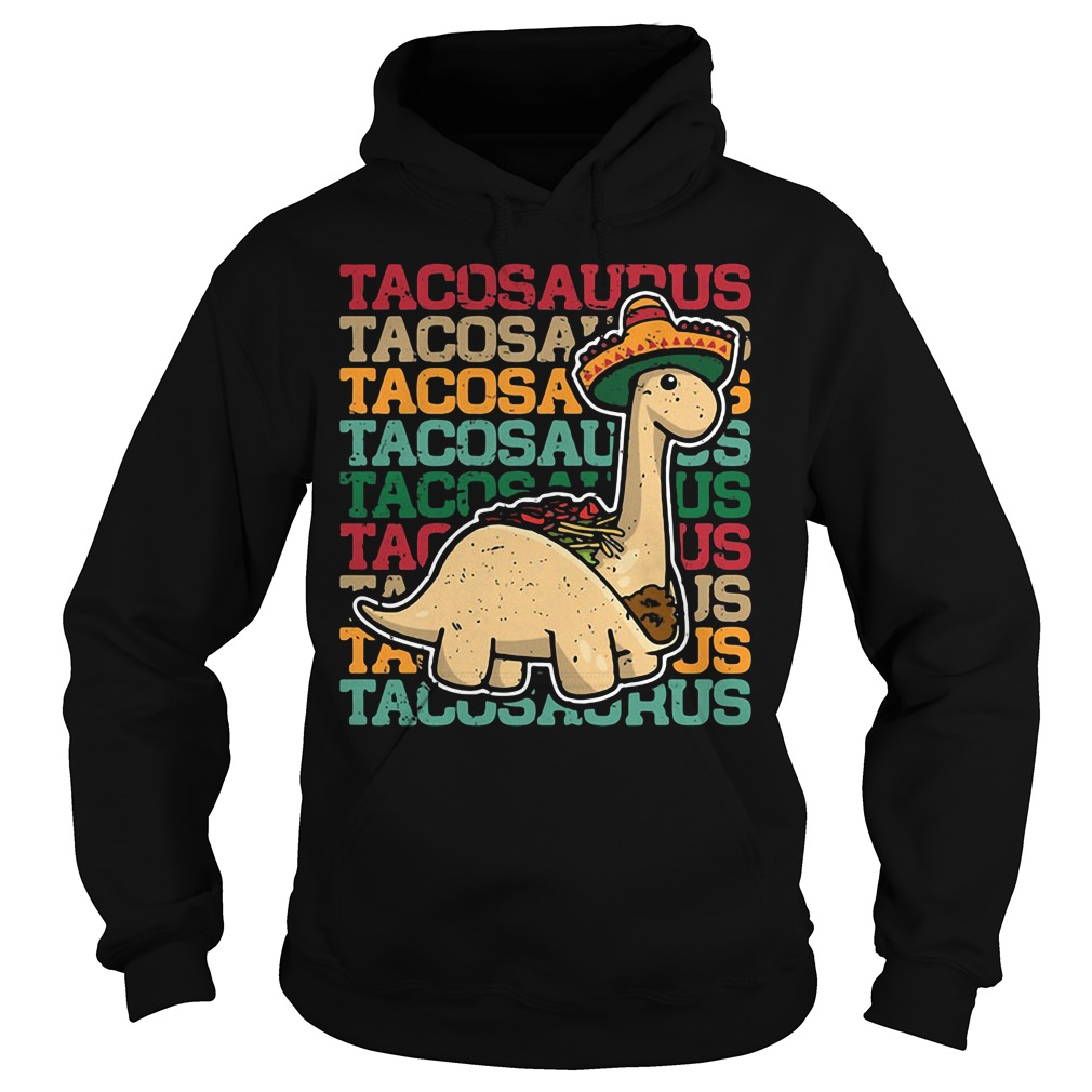 Tacosaurus Dinosaur Hoodie