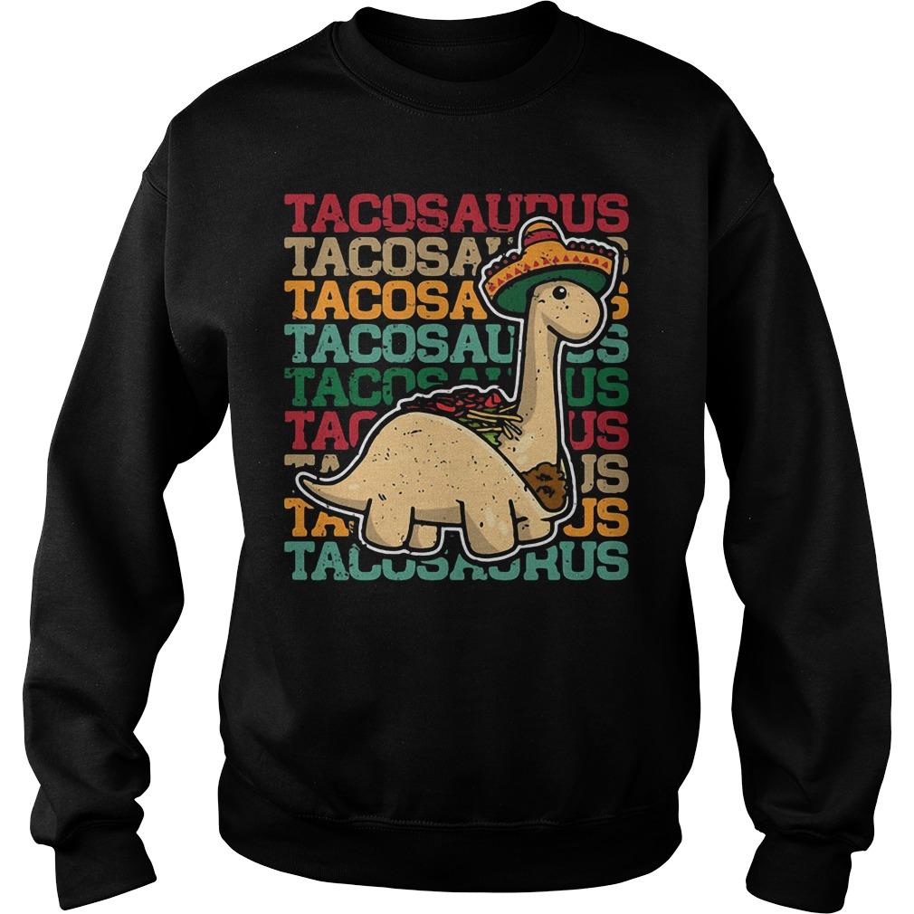 Tacosaurus Dinosaur Sweater
