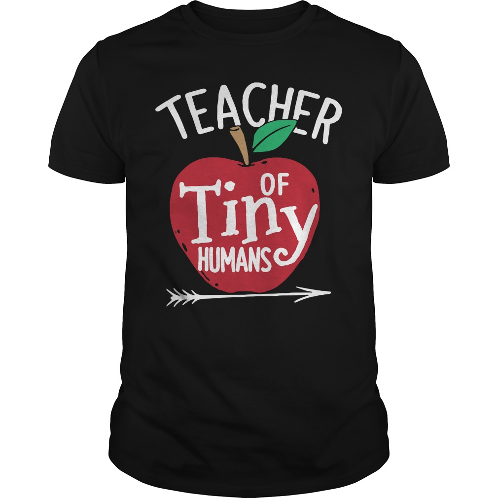 Teacher of tiny humans Guys Shirt