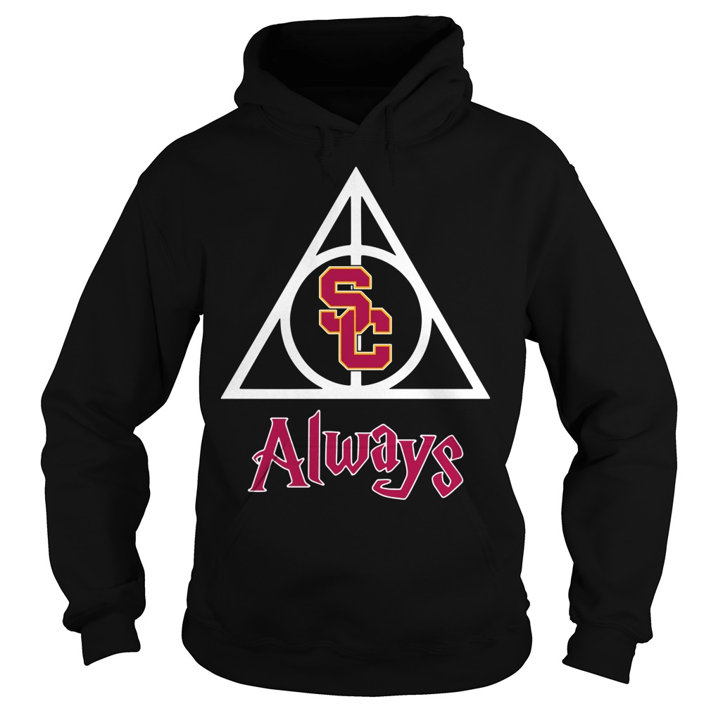 USC Trojans Deathly Hallows Always Harry Potter Hoodie