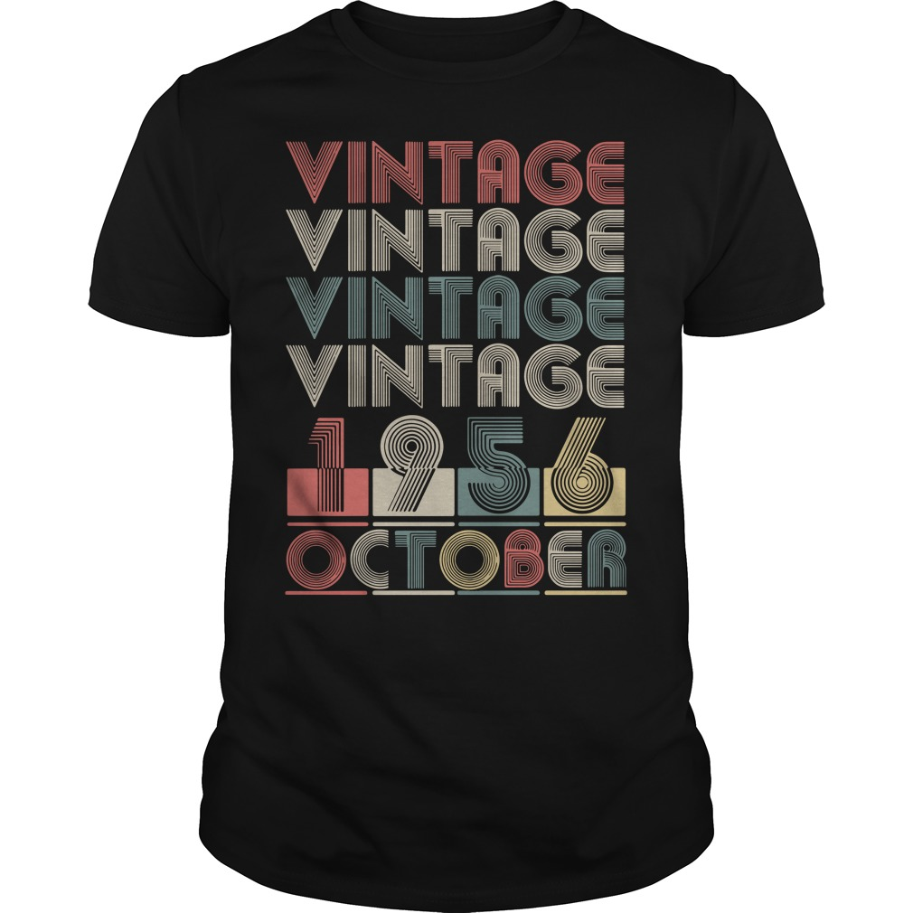 Vintage vintage vintage vintage 1956 October Guys Shirt