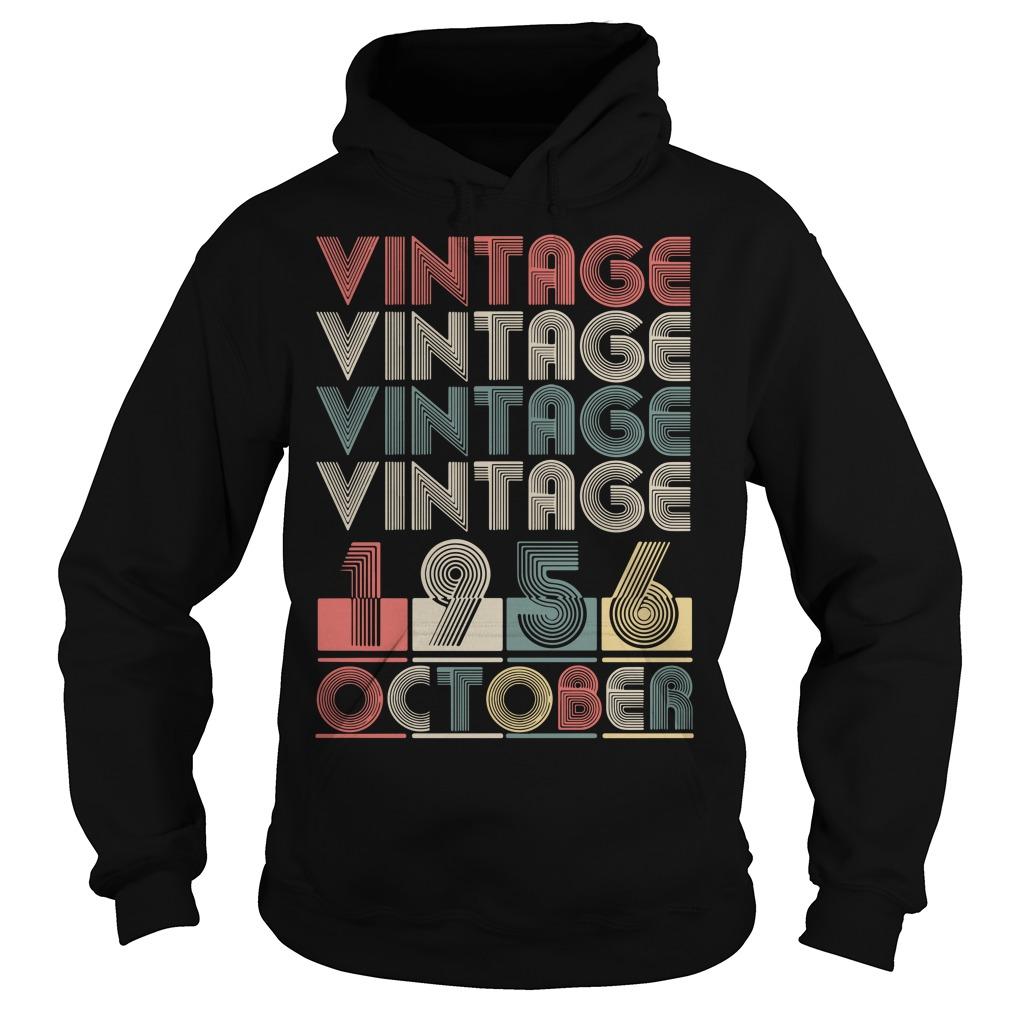 Vintage vintage vintage vintage 1956 October Hoodie