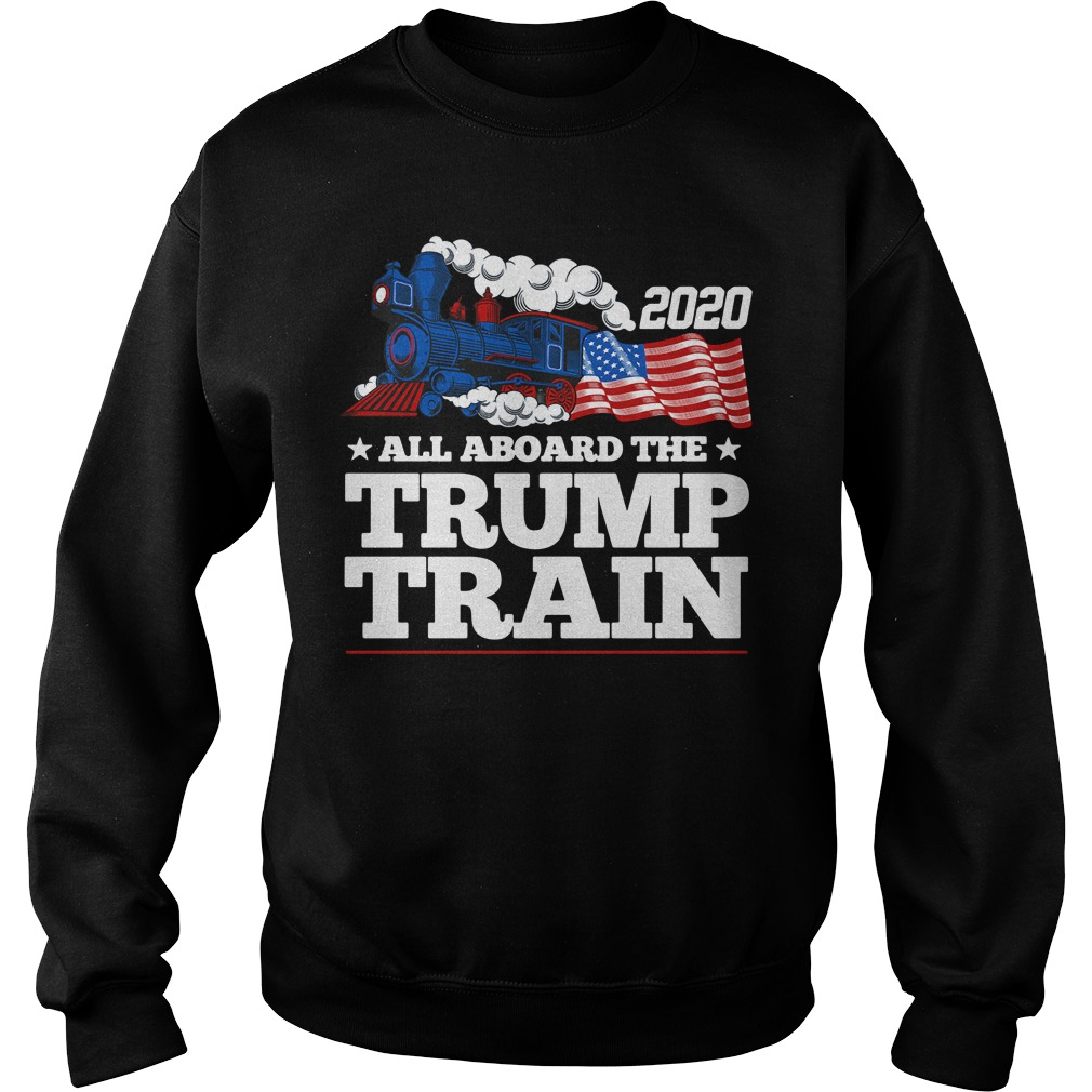 2020 all aboard the Trump Train Sweater