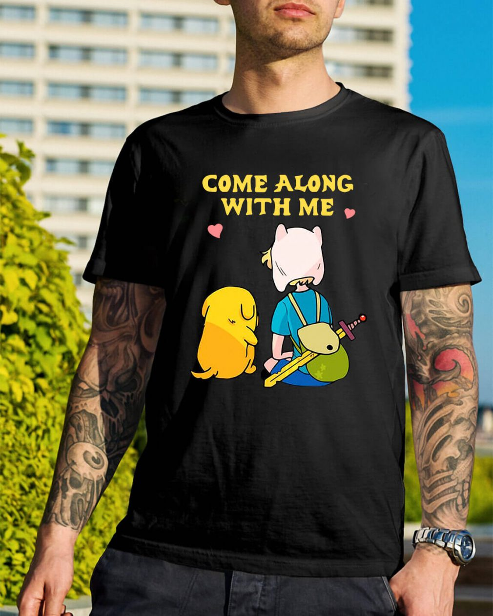 Adventure Time come along with me shirt
