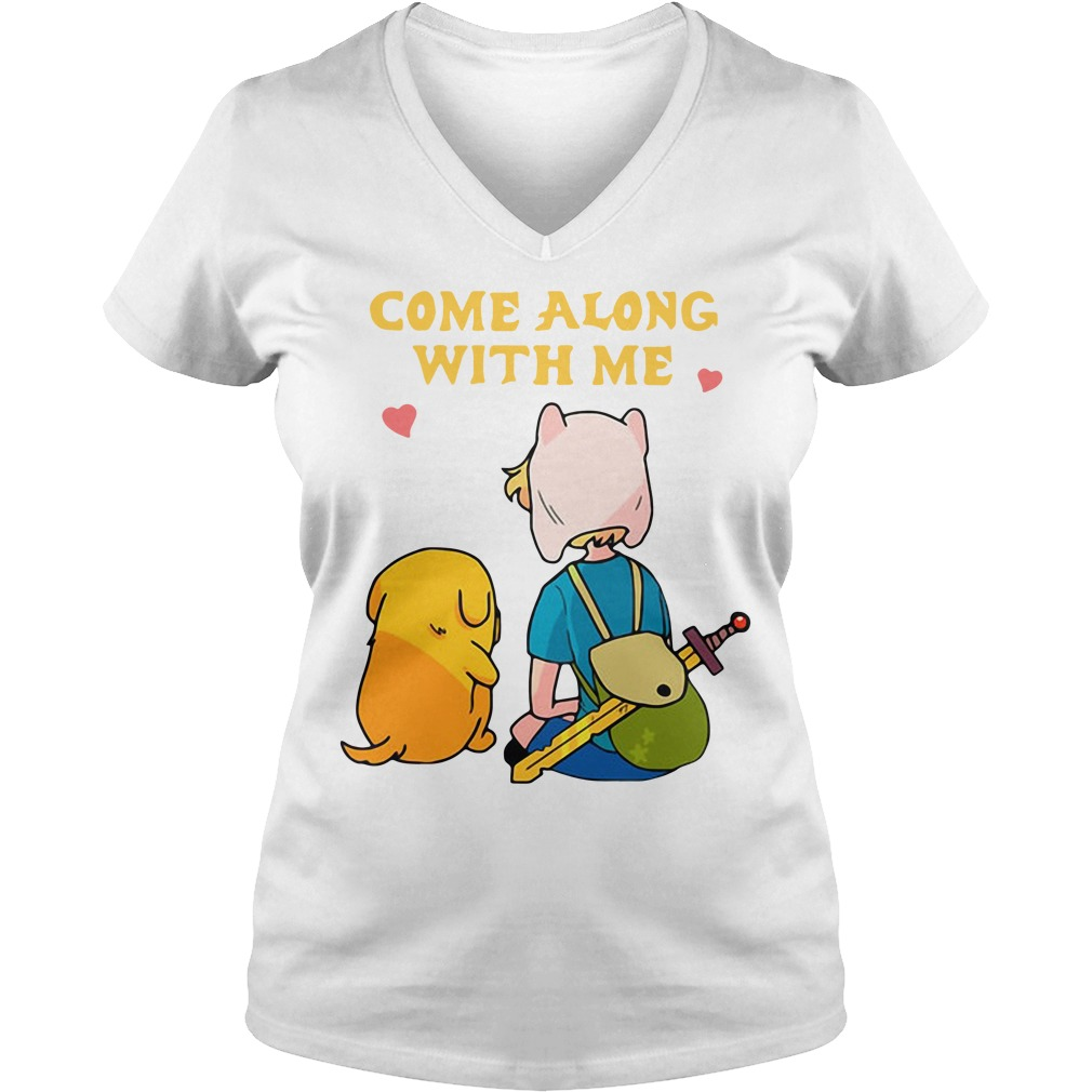 Adventure Time come along with me V-neck T-shirt