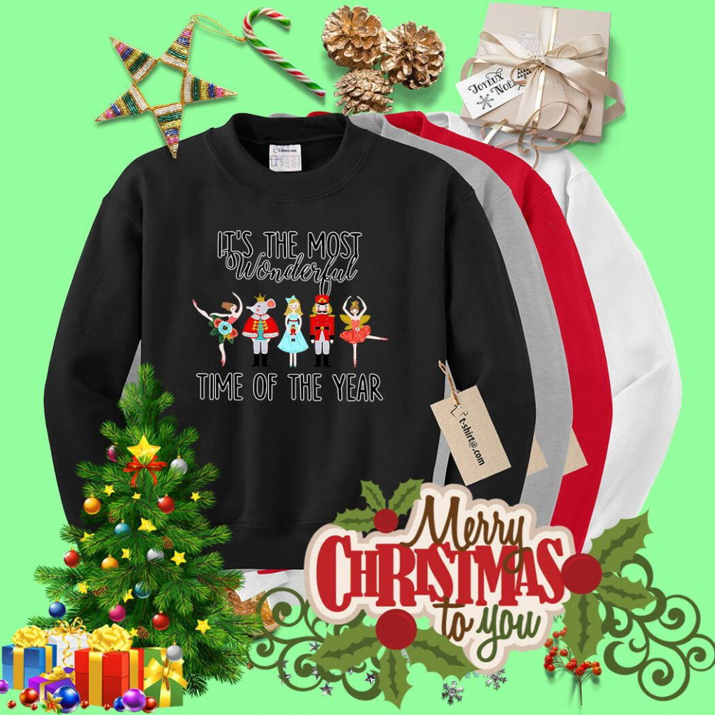 Ballet it's the most wonderful time of the year shirt, sweater