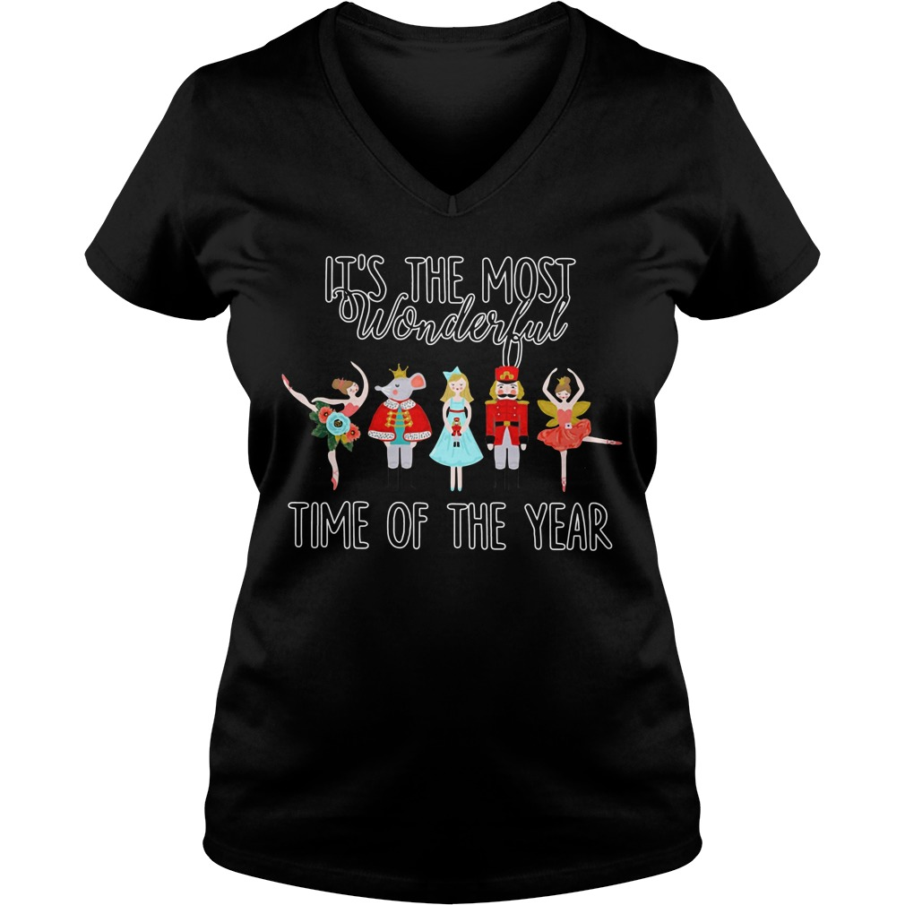 Ballet it's the most wonderful time of the year V-neck T-shirt