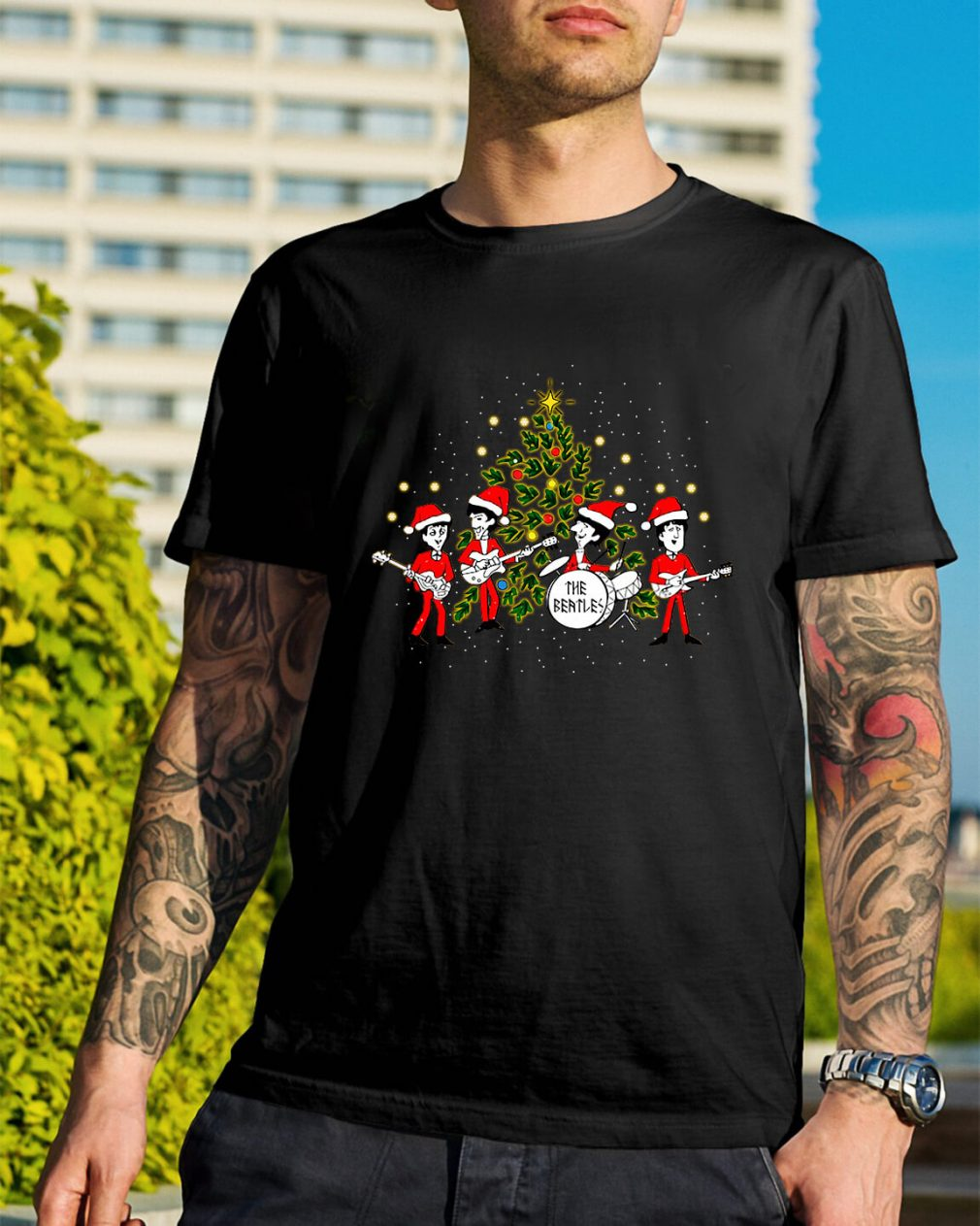 The Beatles Christmas Records Guys Shirt