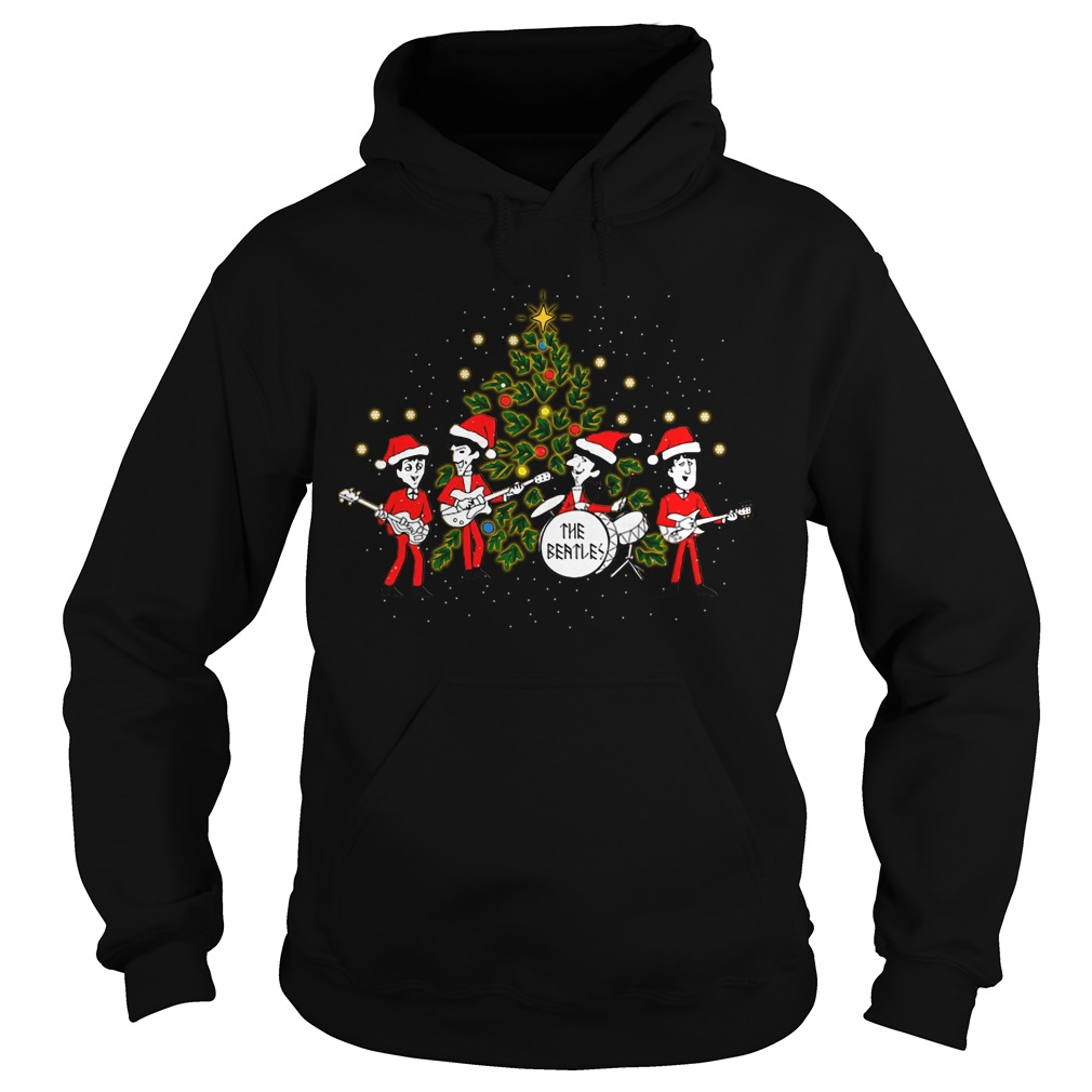 The Beatles Christmas Records Hoodie