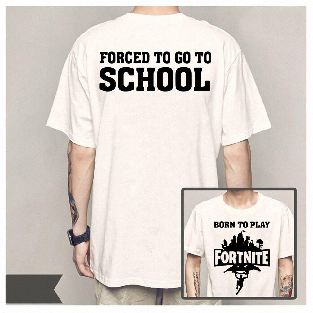 Born to play Fortnite shirt