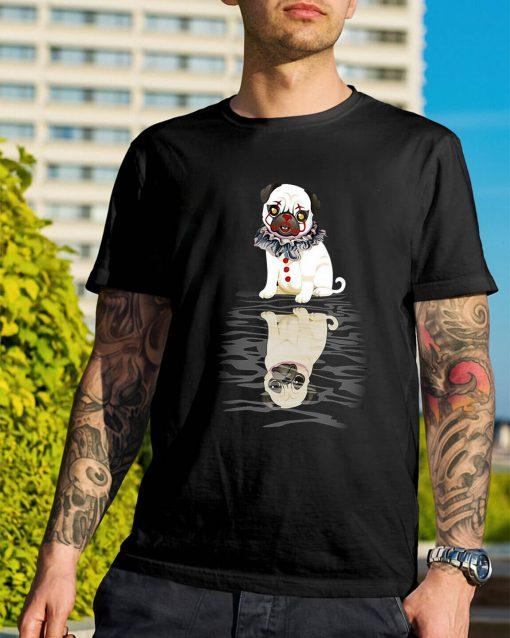 Bulldog IT Clown Halloween shirt