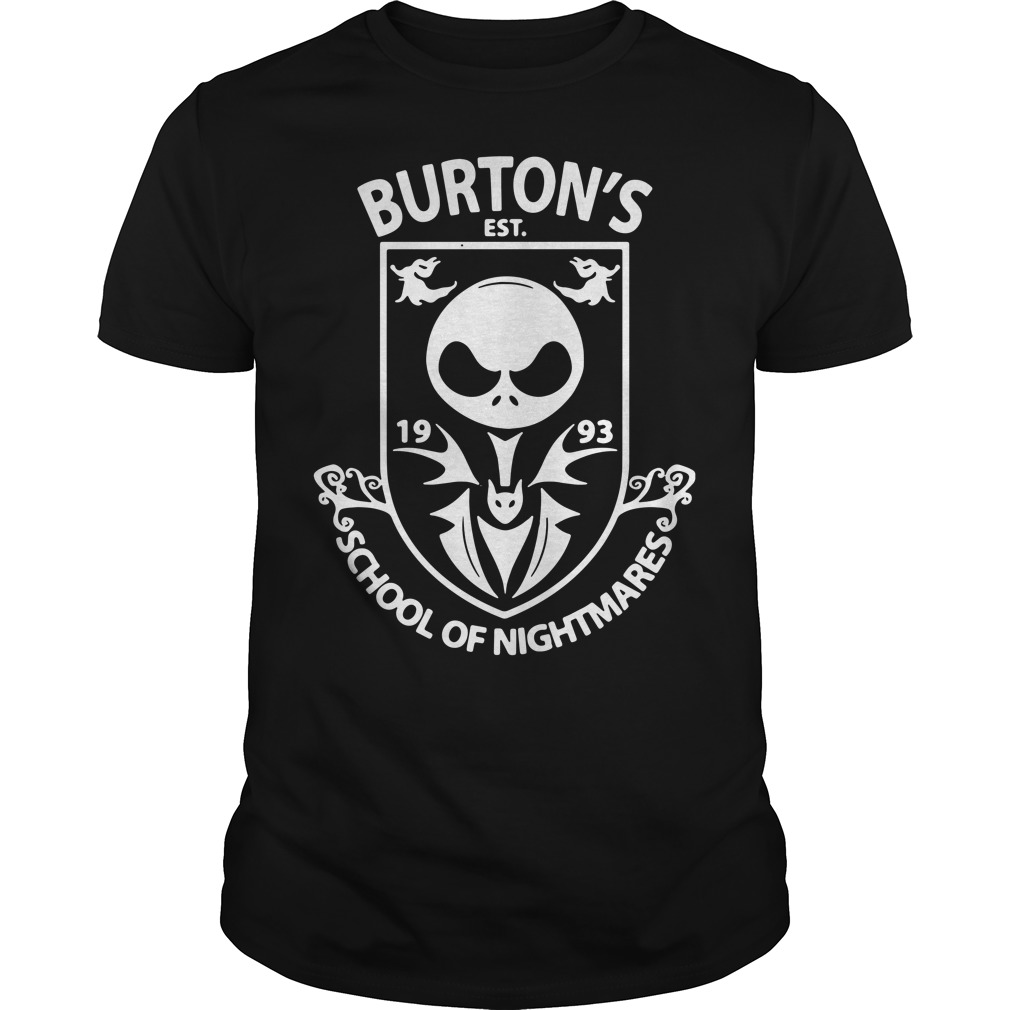 Burton's Est. 1993 school of Nightmares Guys Shirt