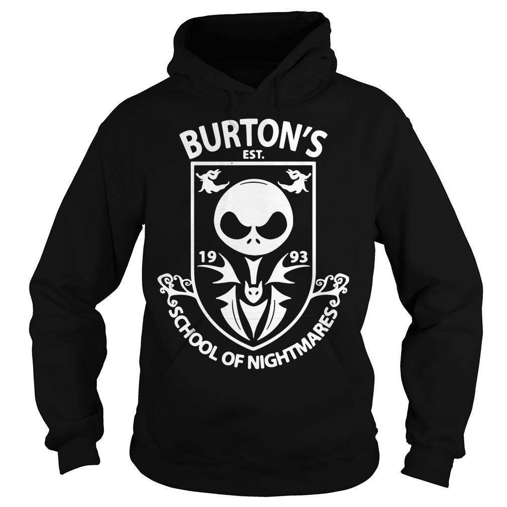 Burton's Est. 1993 school of Nightmares Hoodie