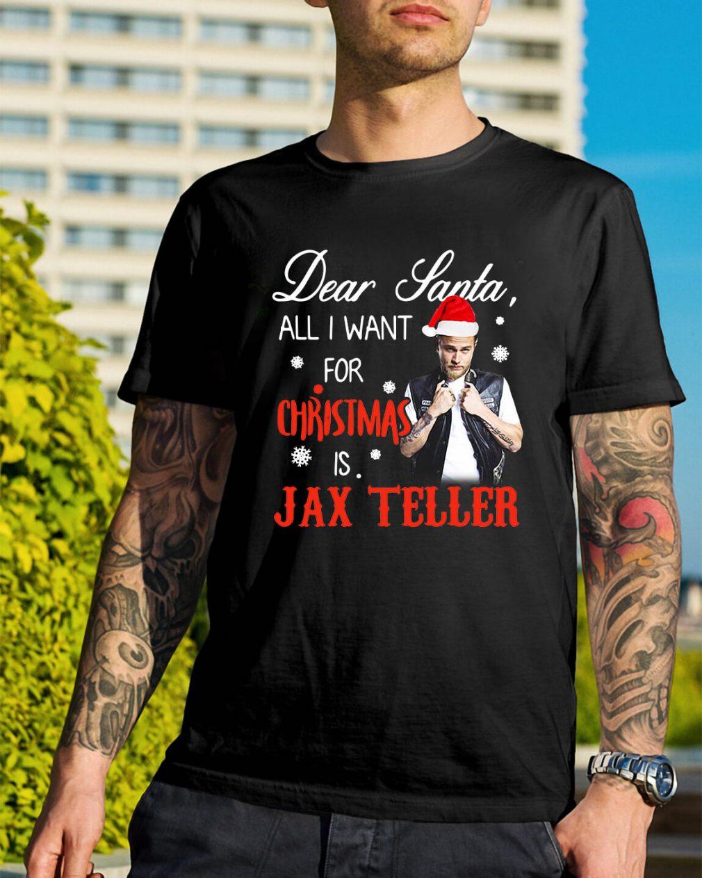 Charlie Hunnam - Dear Santa all I want for Christmas Guys Shirt