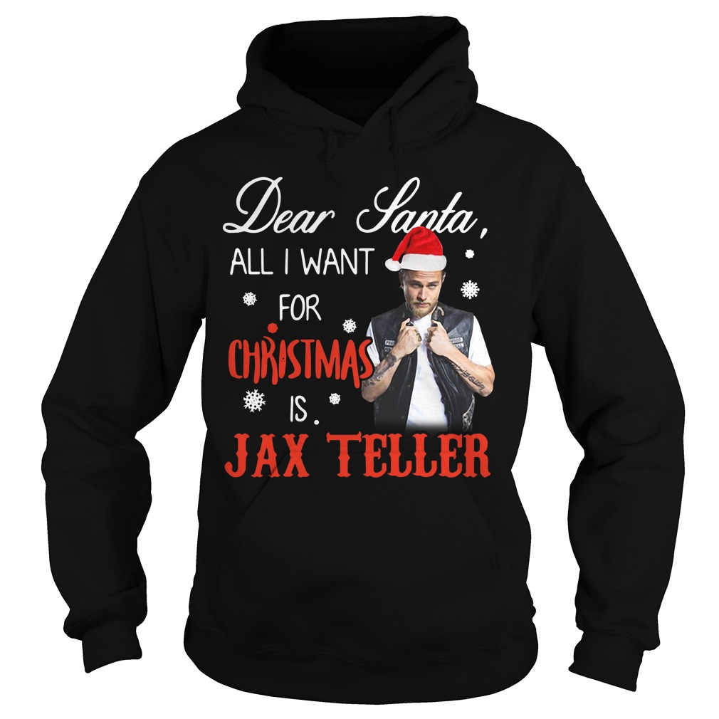 Charlie Hunnam - Dear Santa all I want for Christmas Hoodie