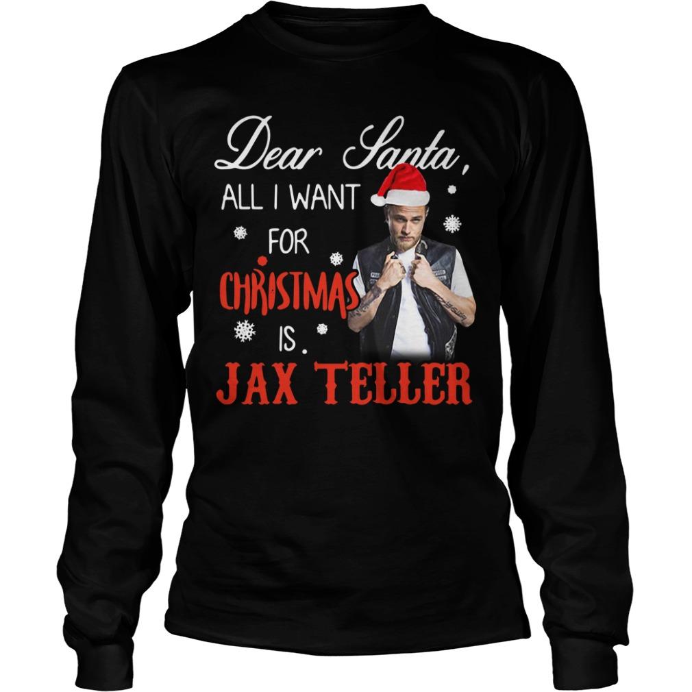 Charlie Hunnam - Dear Santa all I want for Christmas Longsleeve Tee