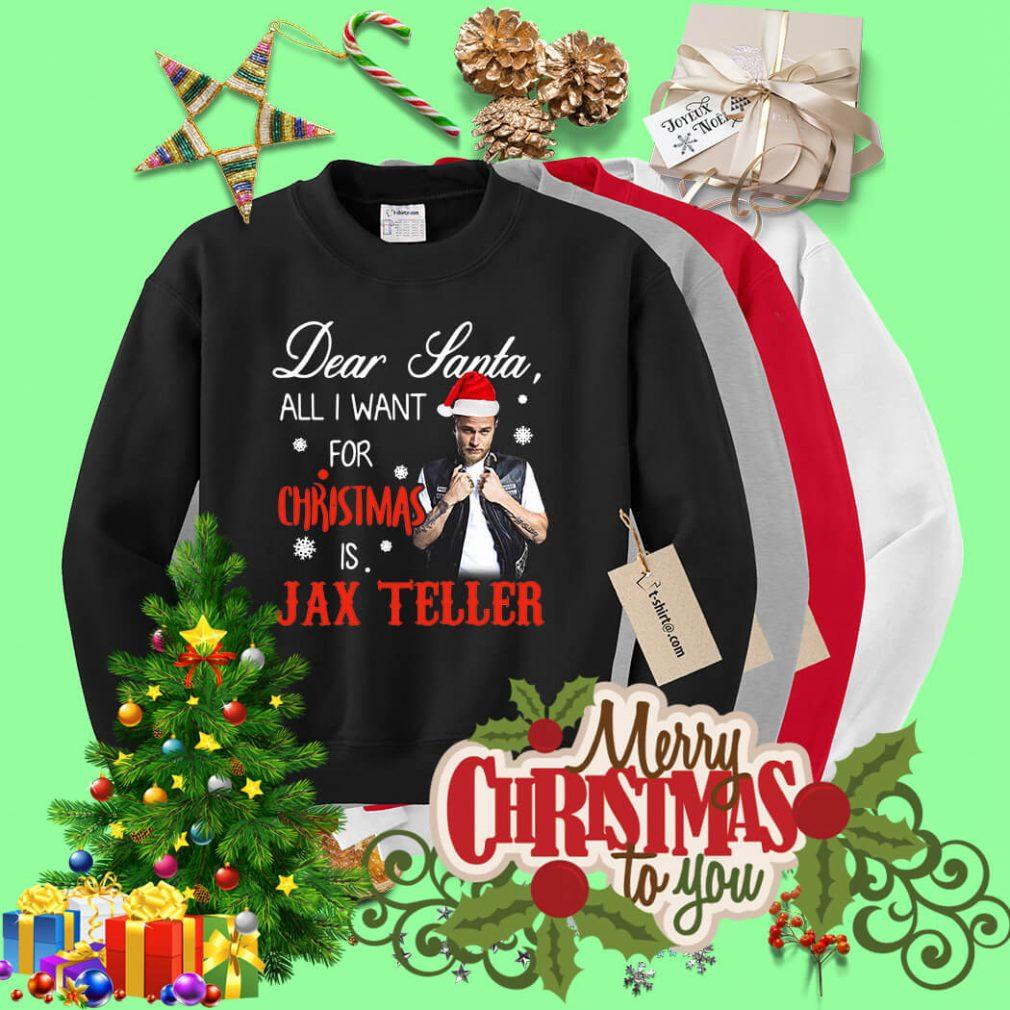 Charlie Hunnam - Dear Santa all I want for Christmas shirt, sweater