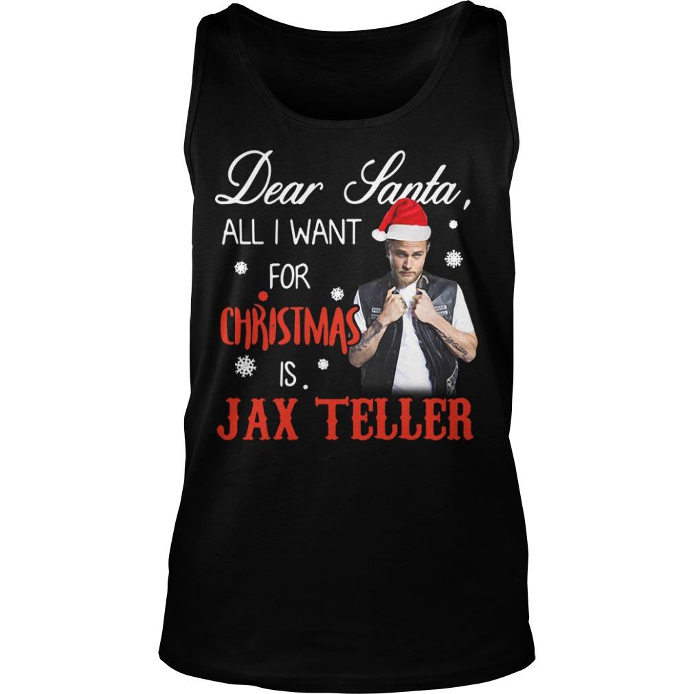 Charlie Hunnam - Dear Santa all I want for Christmas Tank Top