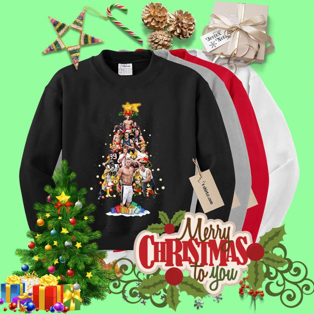 Christmas Justin James Watt Christmas tree shirt, sweater