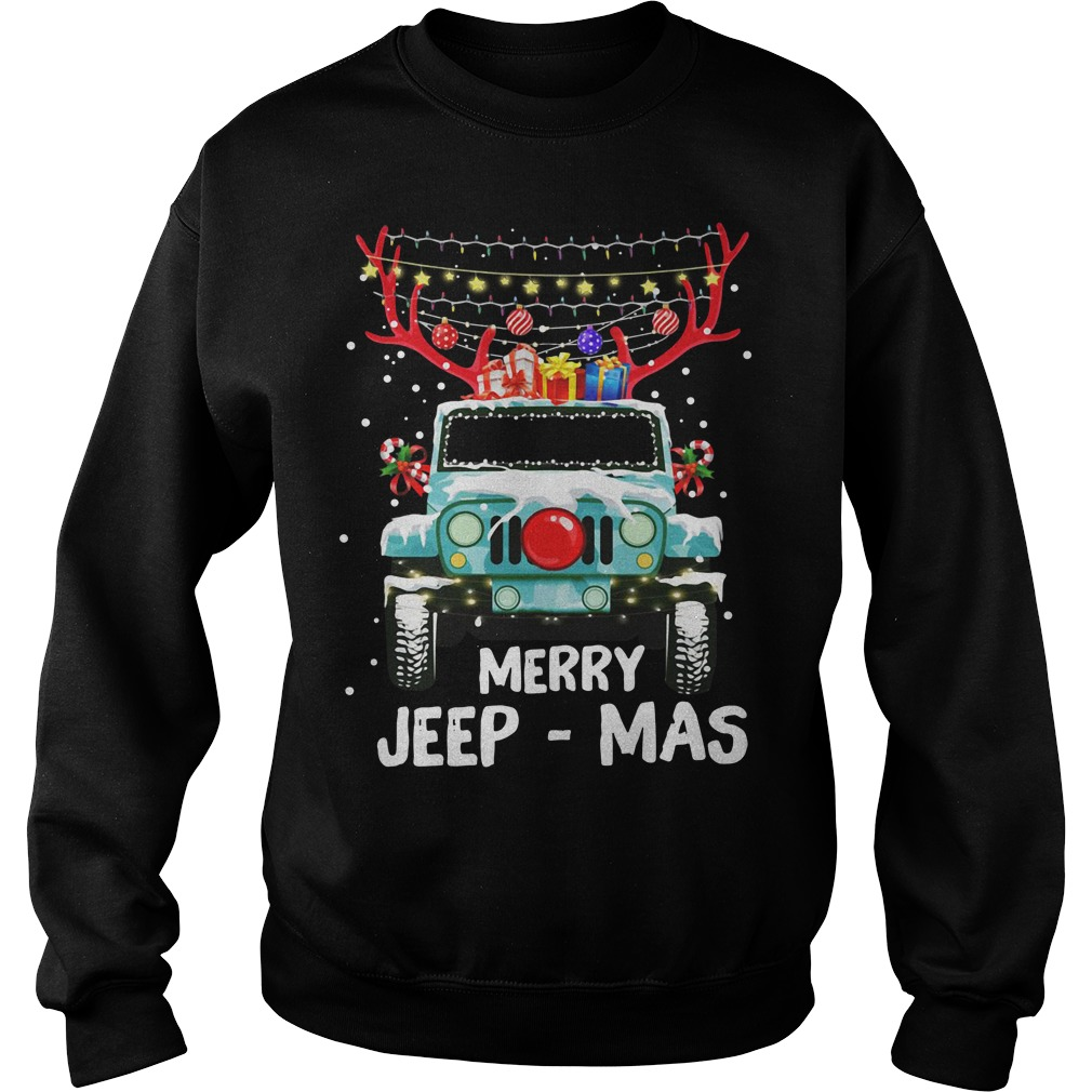 Christmas Merry Jeep-Mas Sweater