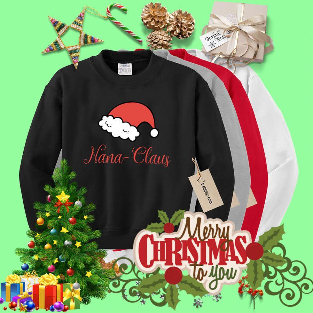Christmas Nana Claus shirt, sweater