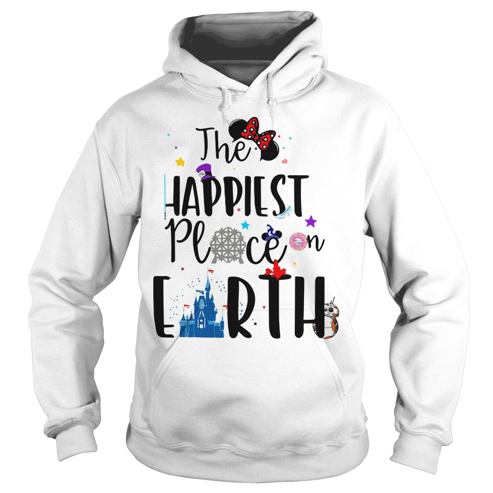 Disneyland Disney the happiest place on earth Hoodie