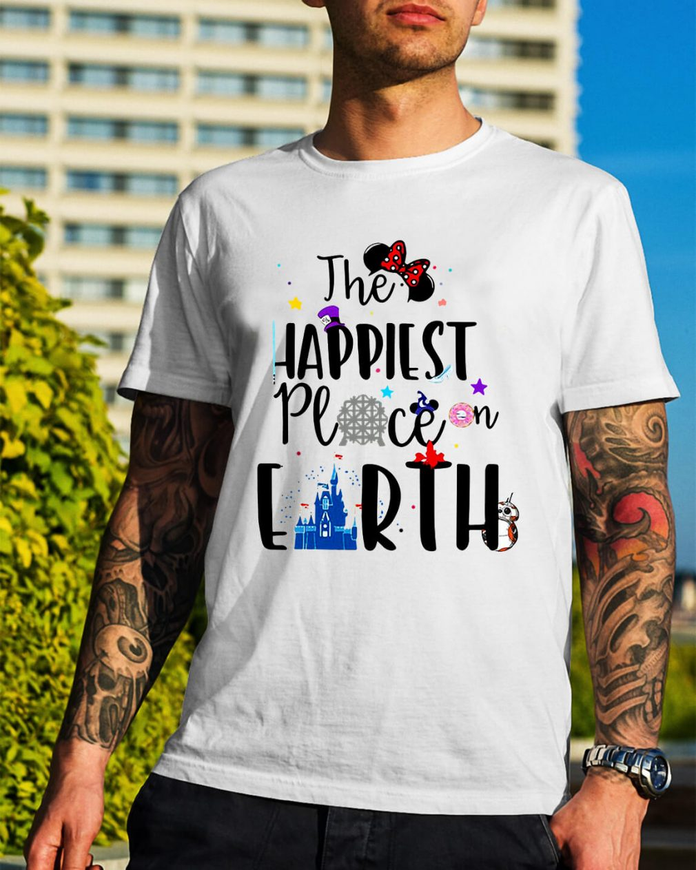 Disneyland Disney the happiest place on earth shirt