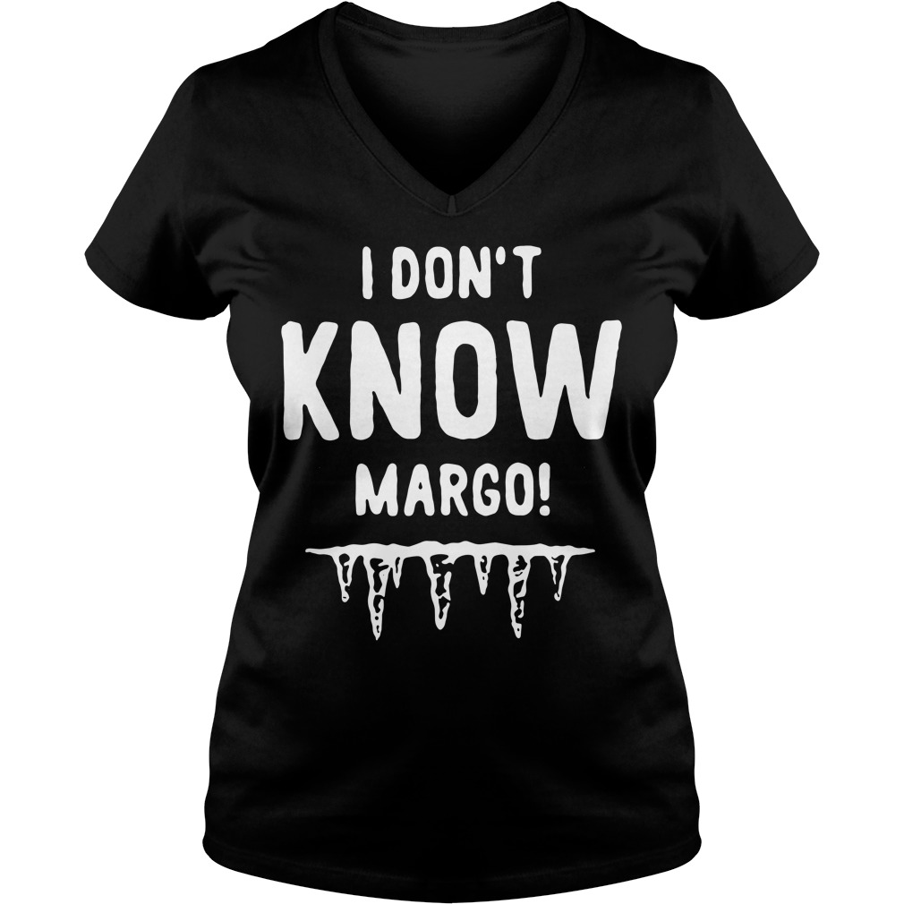 I don't know Margo V-neck T-shirt