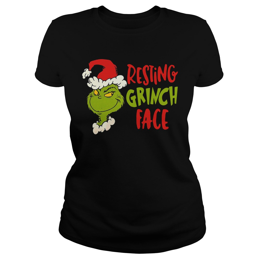 Dr Seuss Primark resting grinch face Ladies Tee