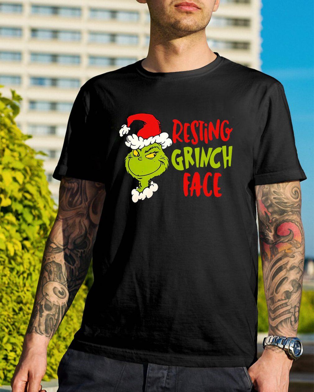 Dr Seuss Primark resting grinch face shirt