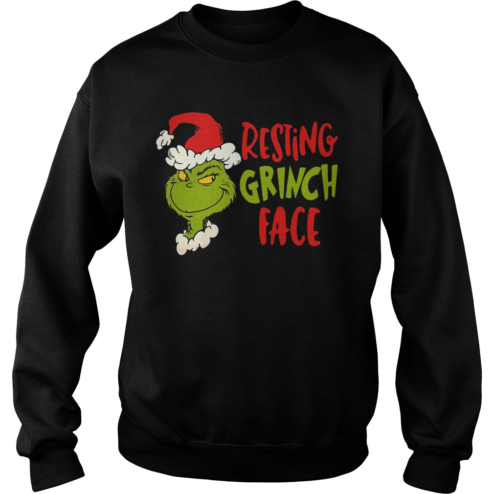Dr Seuss Primark resting grinch face Sweater