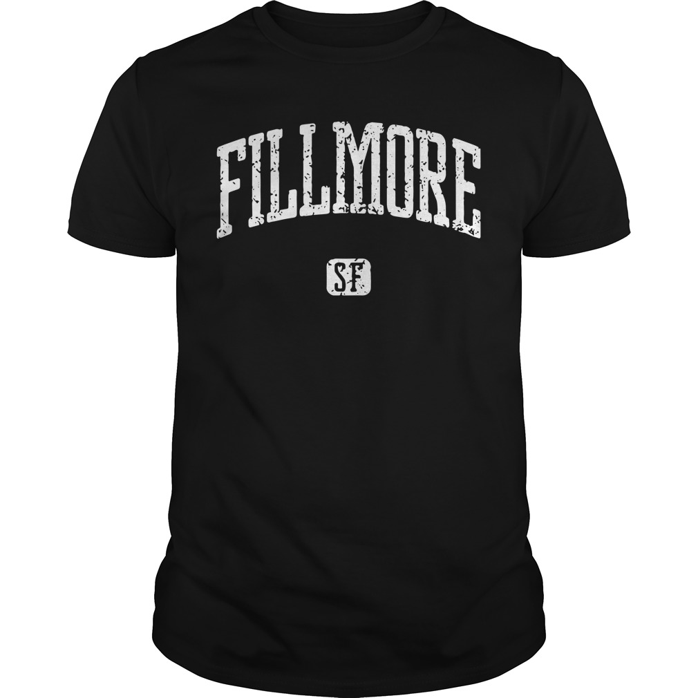 Fillmore San Francisco Guys Shirt