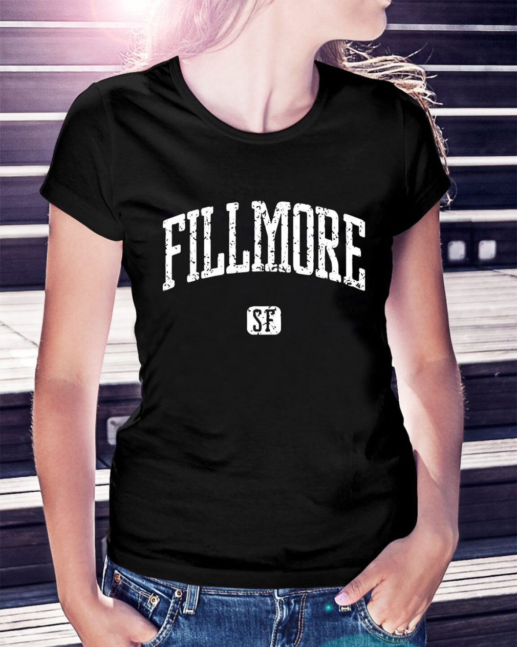 Fillmore San Francisco Ladies Tee