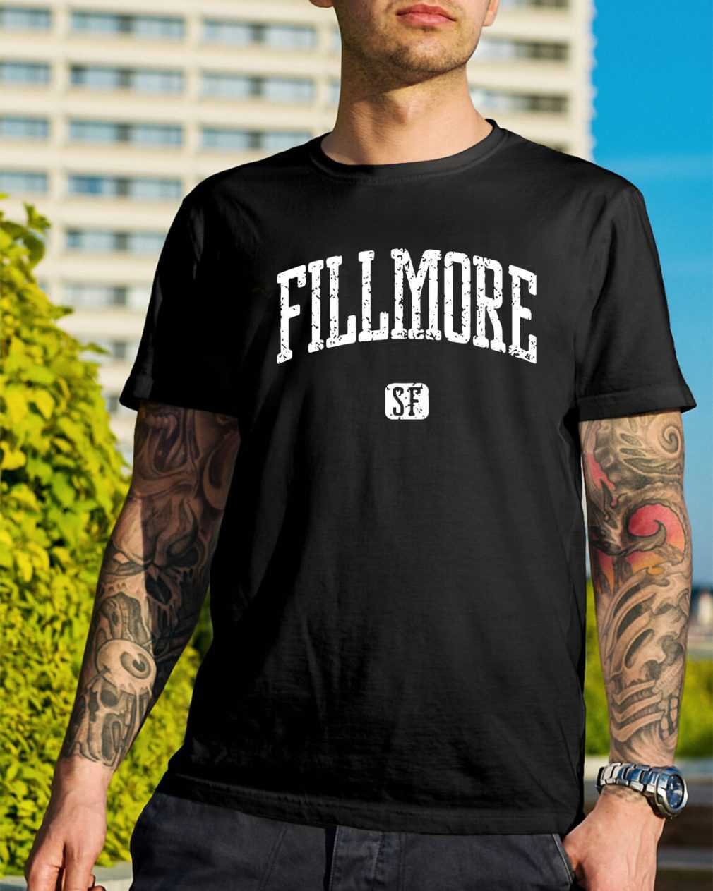 Fillmore San Francisco shirt