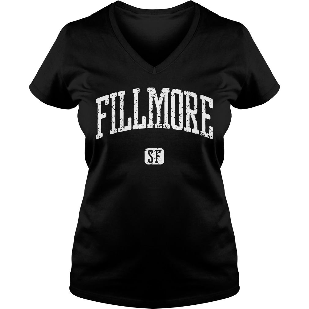 Fillmore San Francisco V-neck T-shirt