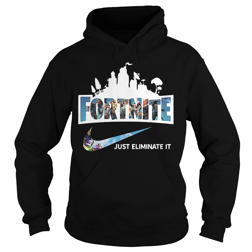 Fortnite just Eliminate it Hoodie