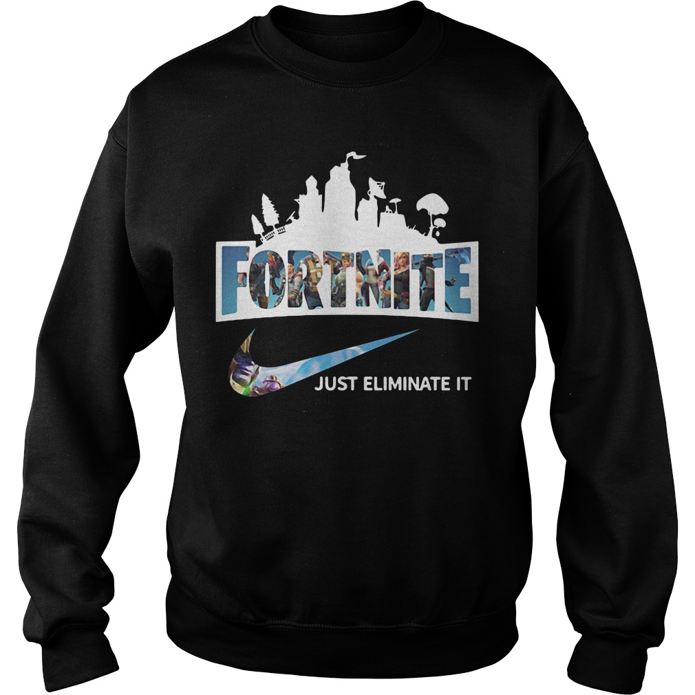 Fortnite just Eliminate it Sweater