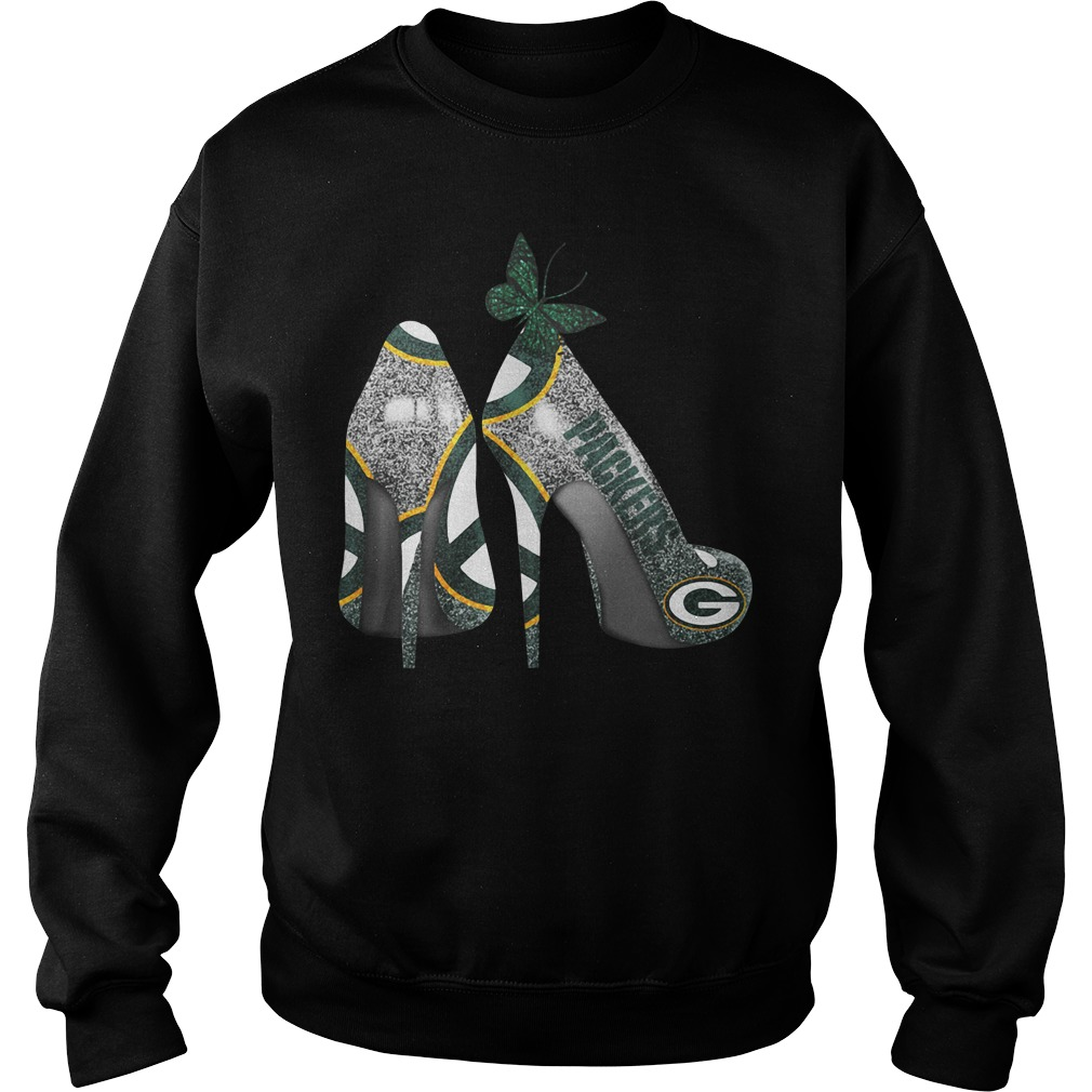 Green Bay Packers high heels Sweater