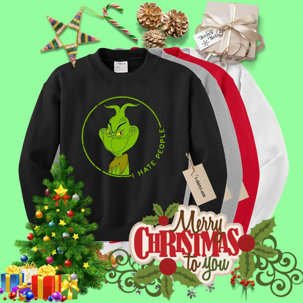 Grinch I hate people shirt, sweater