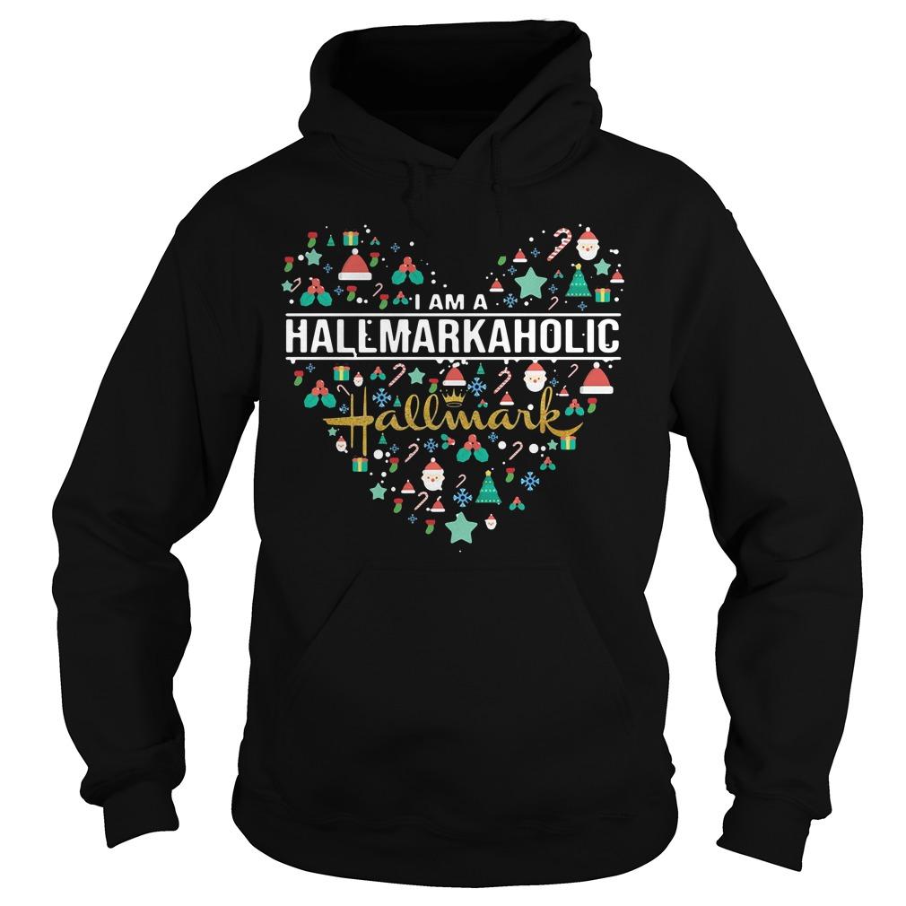 I am a Hallmark Aholic Hallmark Hoodie