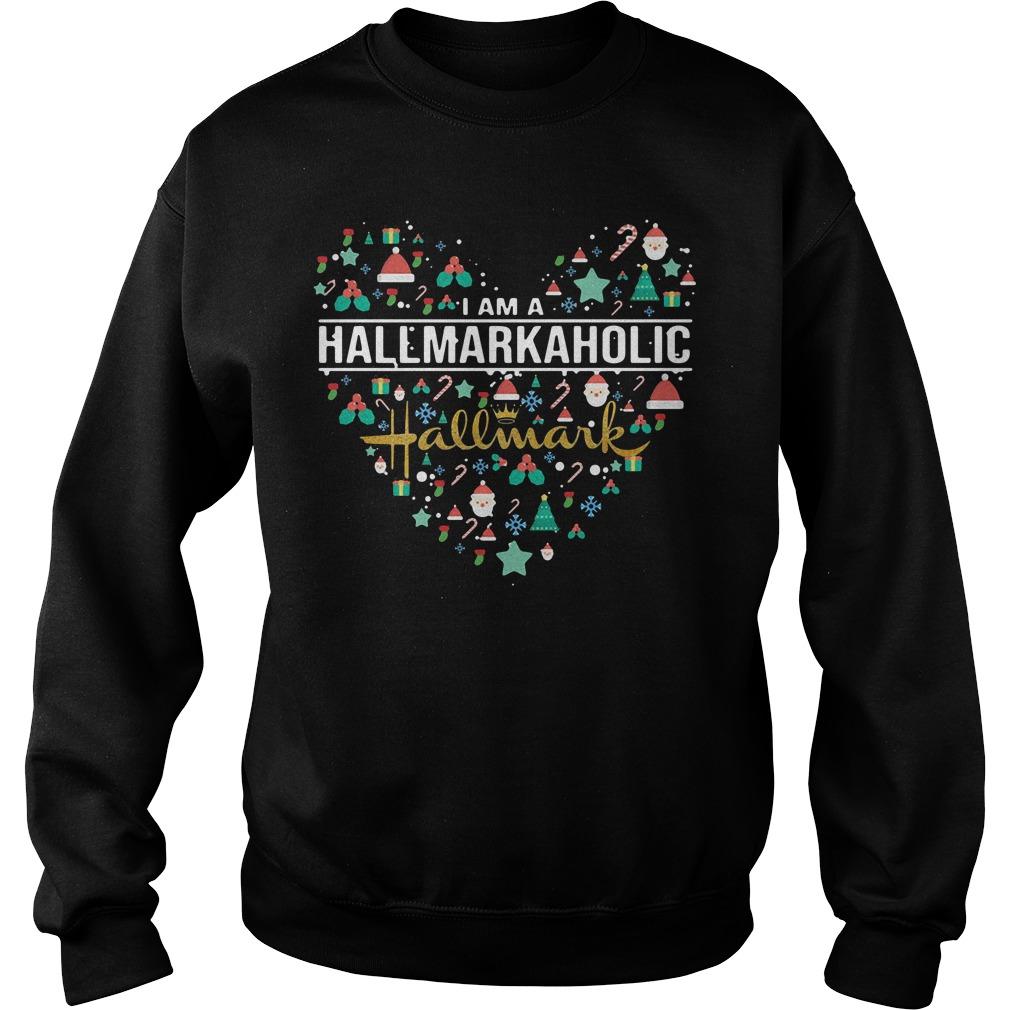 I am a Hallmark Aholic Hallmark Sweater