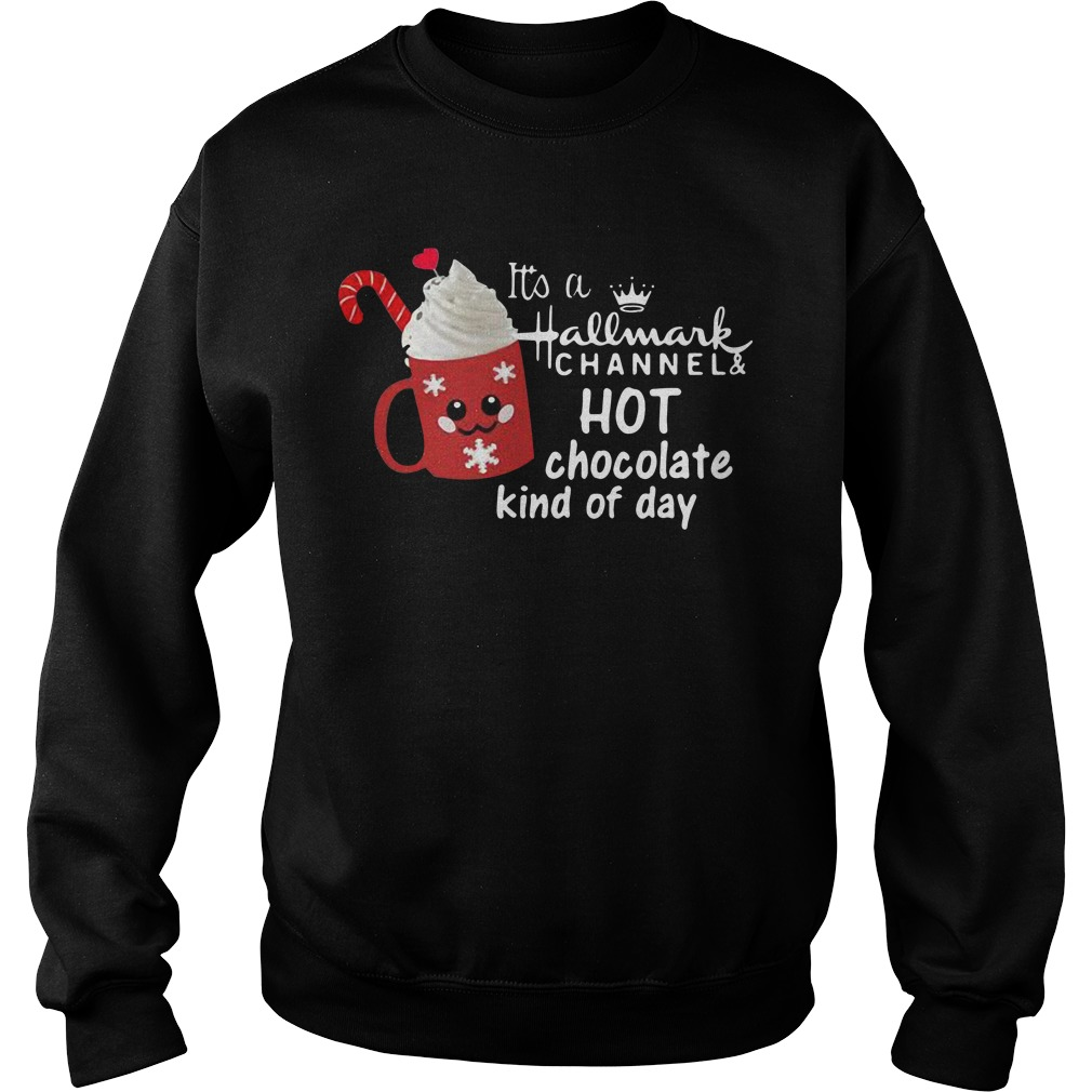 It's a hallmark channel and hot chocolate kind of day Sweater
