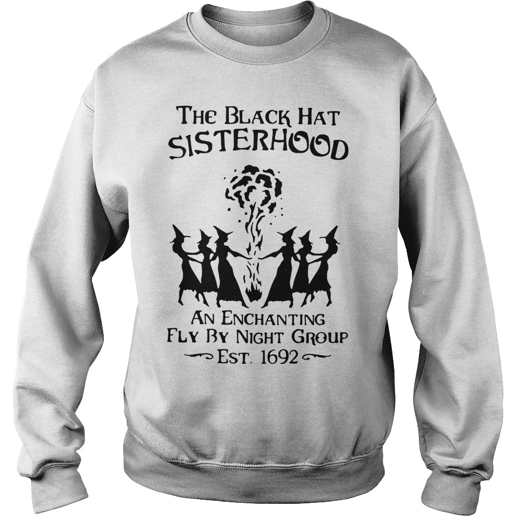 Halloween the black hat sisterhood an enchanting fly by night group Sweater