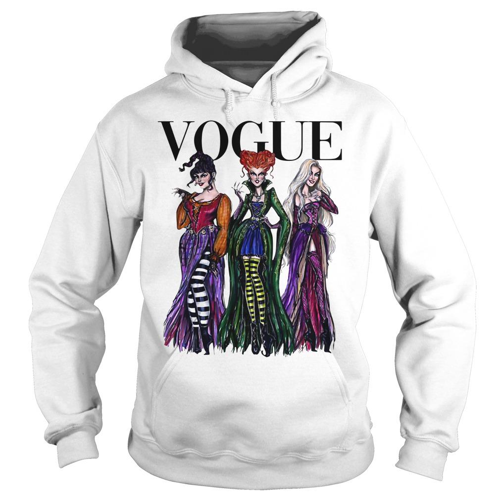 Halloween Hocus Pocus Vogue Hoodie