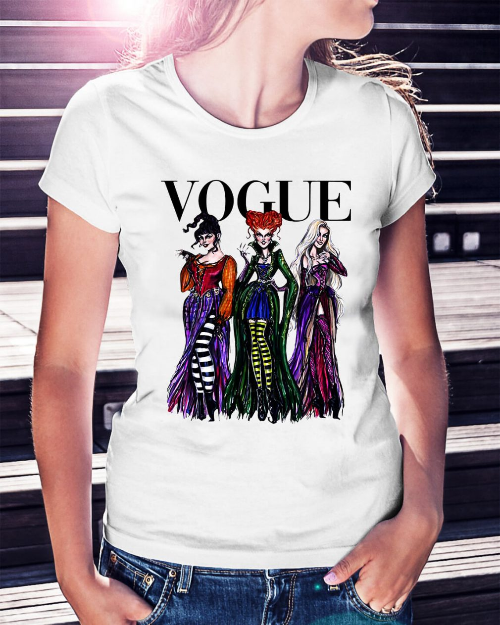 Halloween Hocus Pocus Vogue shirt