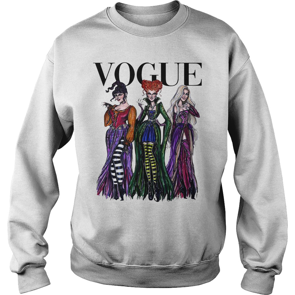 Halloween Hocus Pocus Vogue Sweater