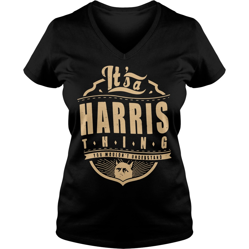 It's a Harris thing you wouldn't understand V-neck T-shirt