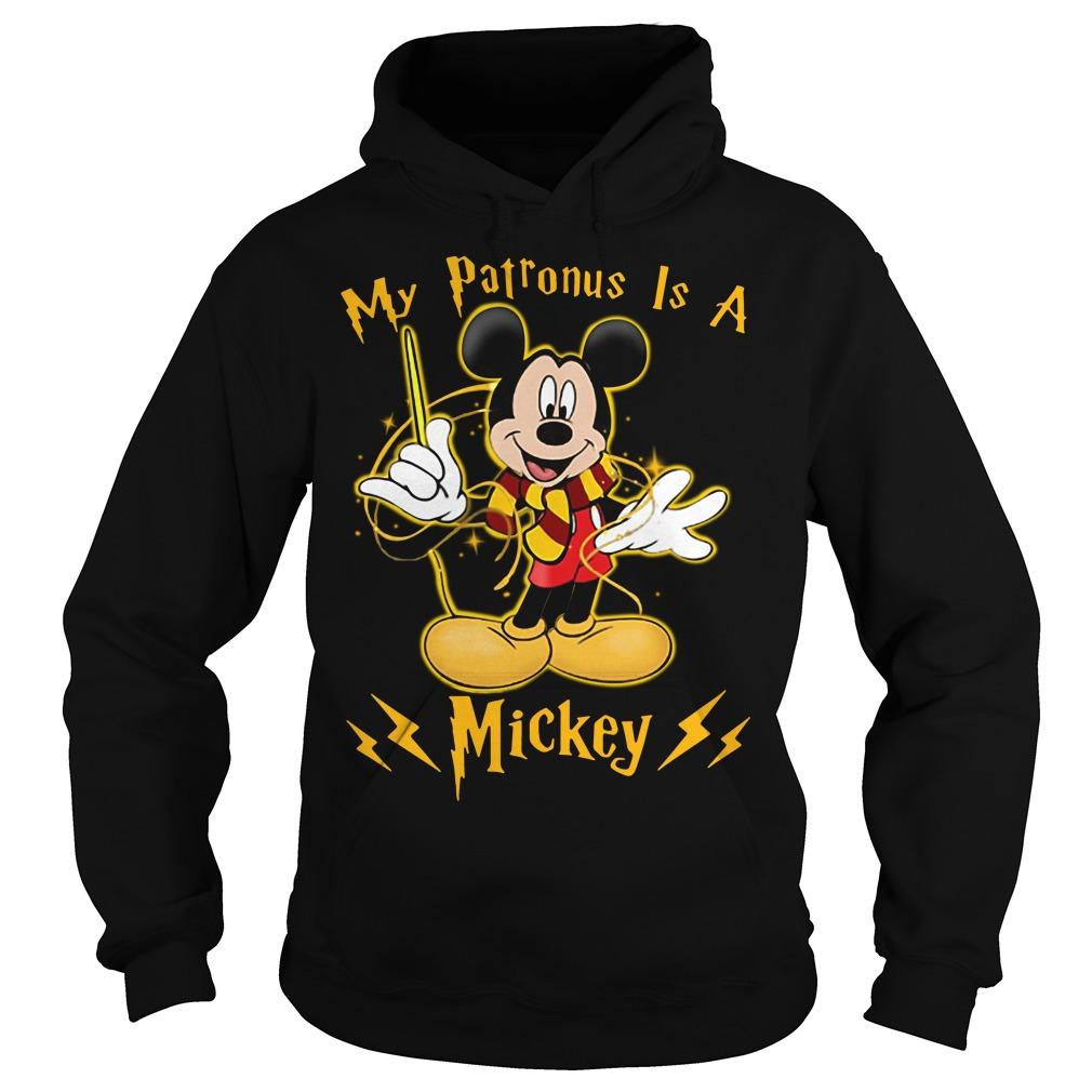 Harry Potter My Patronus is a Mickey Hoodie