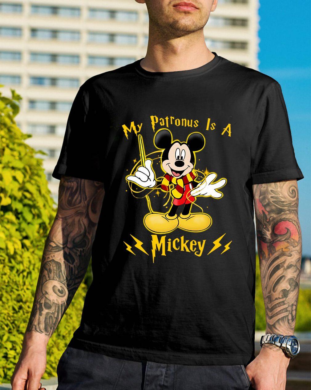 Harry Potter My Patronus is a Mickey shirt